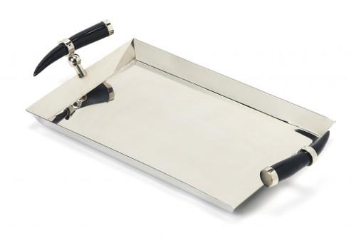 Rectangular Stainless Steel Serving Tray. 388898