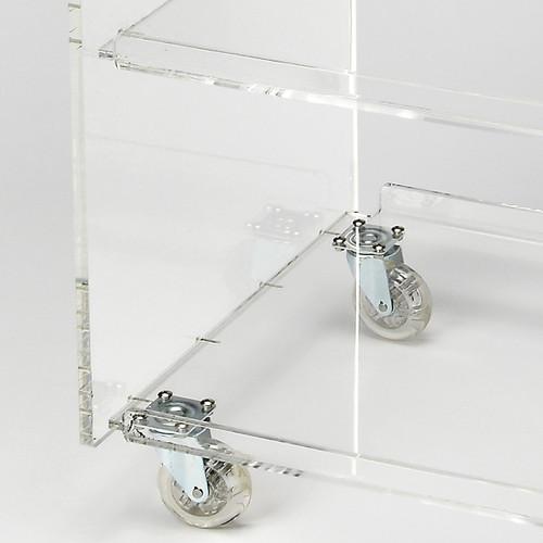 Clear Acrylic Rolling Server Bar Cart. 388954