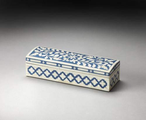 Blue Bone Inlay Storage Box. 389456