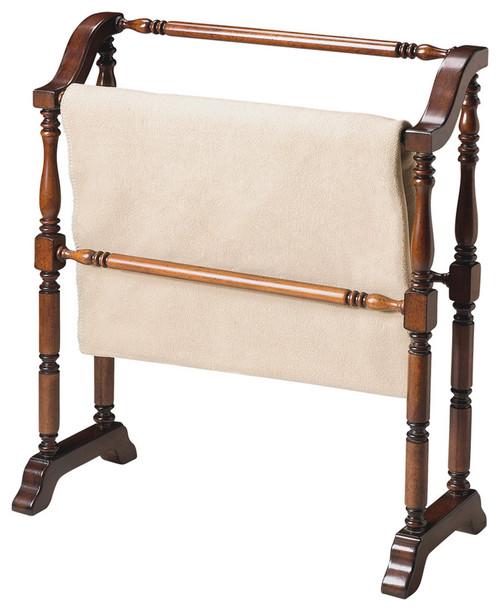 Vintage Deep Cherry Blanket Stand. 389634
