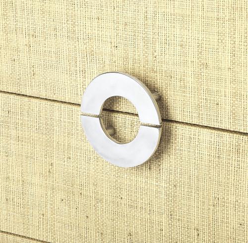 Amelle Cream Raffia 4 Drawer Accent Chest. 389804