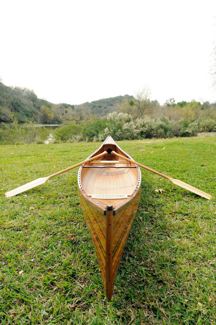 "31.5"" x 187.5"" x 24"" Wooden Canoe. 364275"