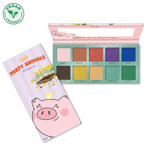 Party Animals 10 Eyeshadow Palette - RUmorse