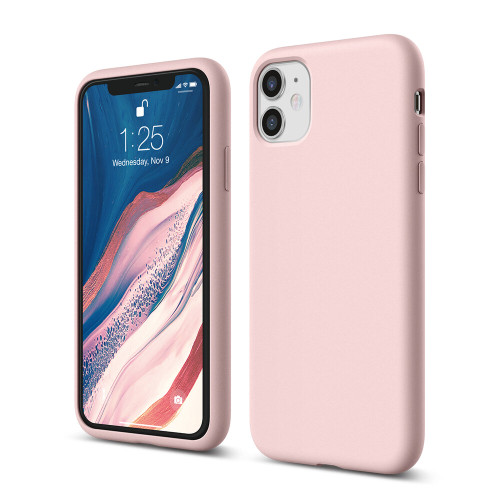 iPhone 11 Case Liquid Silicone Shockproof Slim Shell