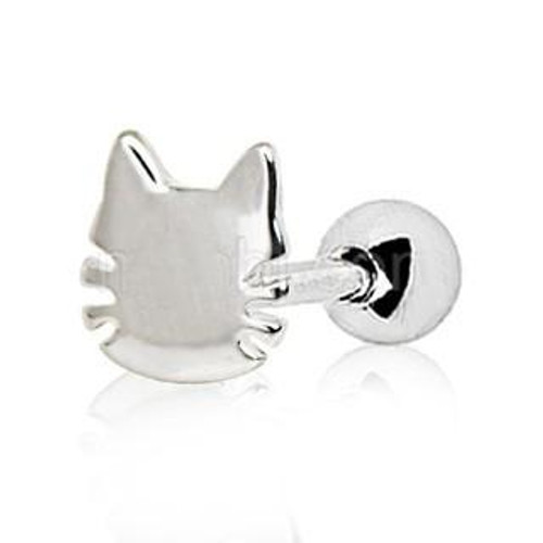 316L Stainless Steel Cat Cartilage/Tragus Earring