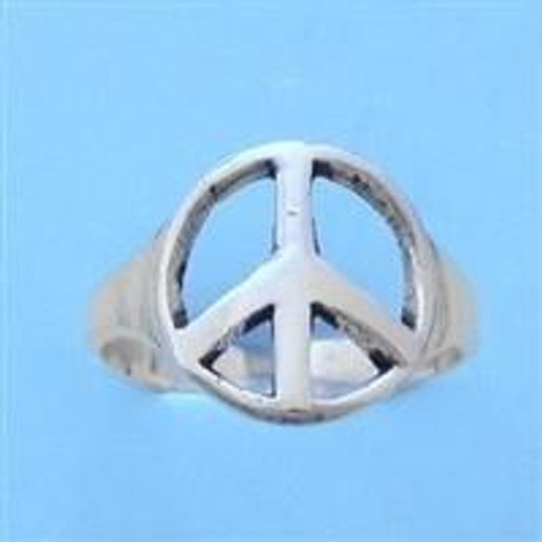 Peace Sign Adjustable Toe Ring