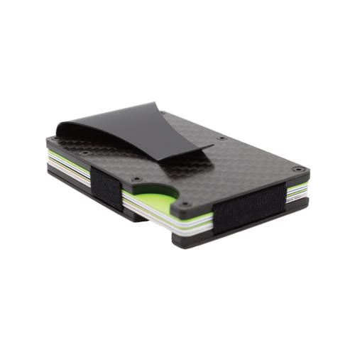 Carbon Fiber RFID Wallet Fits 1-12 Cards