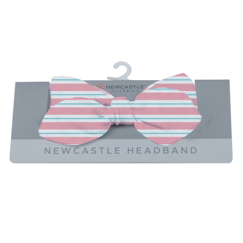 Cute Candy Stripe Bamboo Baby Headband