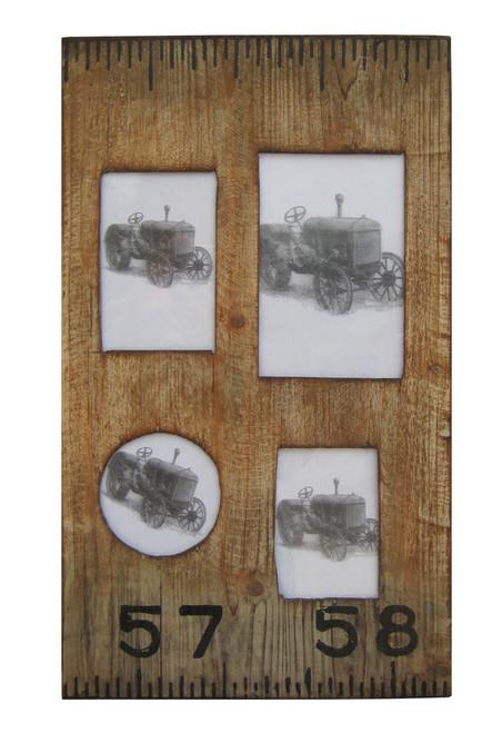 "1"" x 19"" x 1"" Brown Wooden  Photo Frame. 274823"