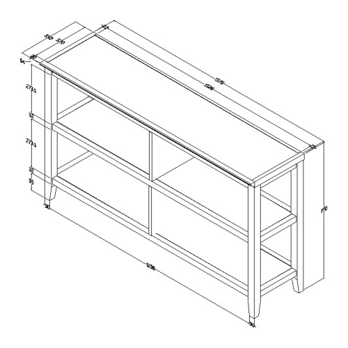 """30"""" Bookcase with 2 Shelves in White. 379942"""