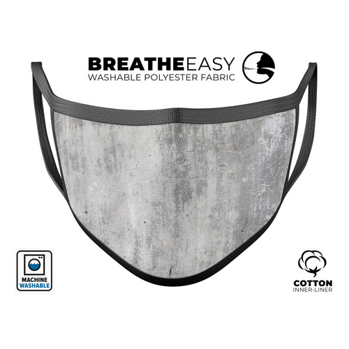 Scratched Concrete- Mouth Cover Unisex Anti-Dust Cotton Face Mask
