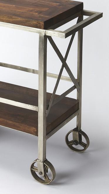 Vintage Style Rolling Server Bar Cart. 388944