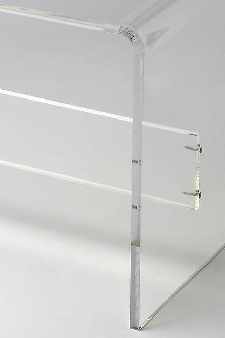 Modern Chic Acrylic Bench. 389178