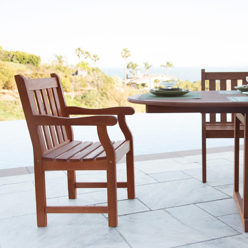 Brown Garden Armchair. 389999