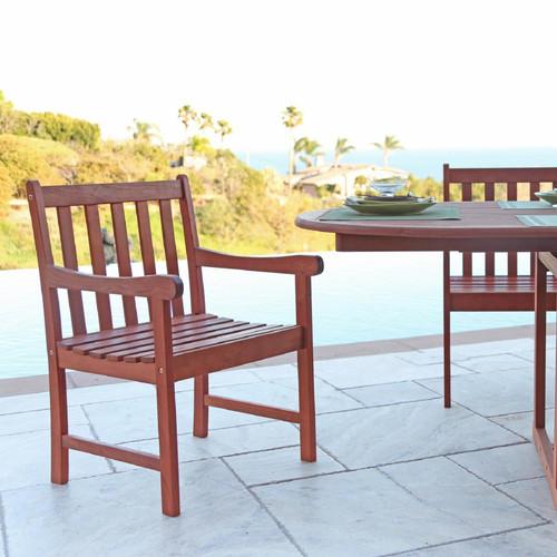 Brown Patio Armchair. 390003
