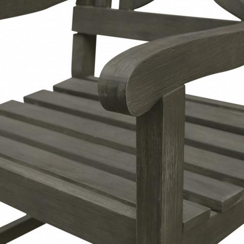 Distressed Grey Garden Armchair. 390007