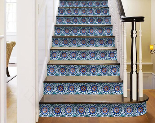 """7"""" X 7"""" Augustine Removable Peel and Stick Tiles. 391590"""