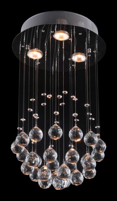 Glam Tear Drop Ceiling Lamp. 391892