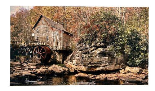 West Virginia Water Wheel Puzzle