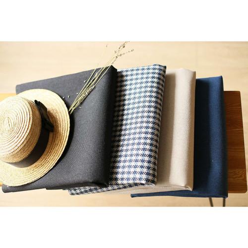 Set of 2 Tan Houndstooth Lumbar Pillow Covers. 392804