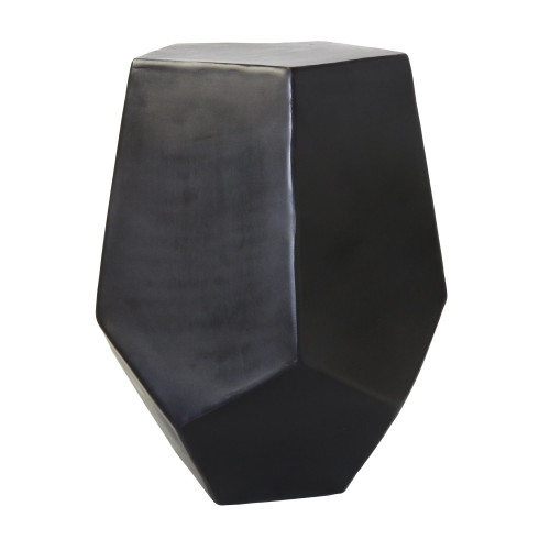 Cast Aluminum Hexagonal Drum Table. 393486