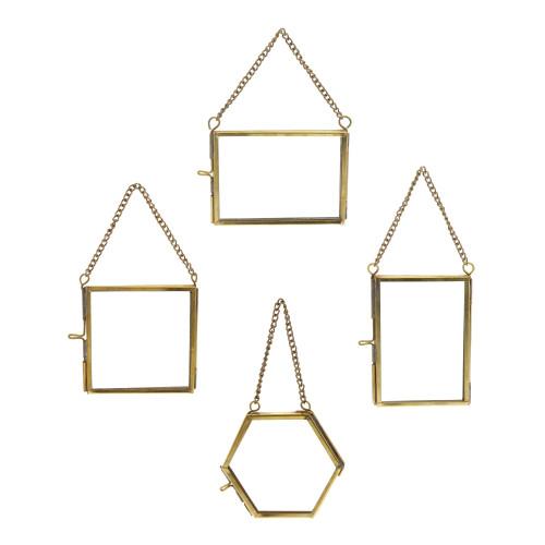 Set of Twelve Gold Metal Frames. 394428