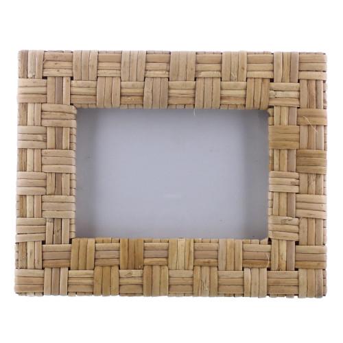 4x6 Woven Bamboo Rectangular Frame. 394439