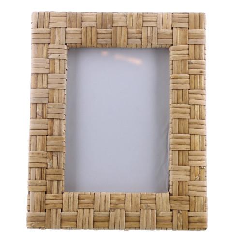 5x7 Woven Bamboo Vertical Frame. 394440