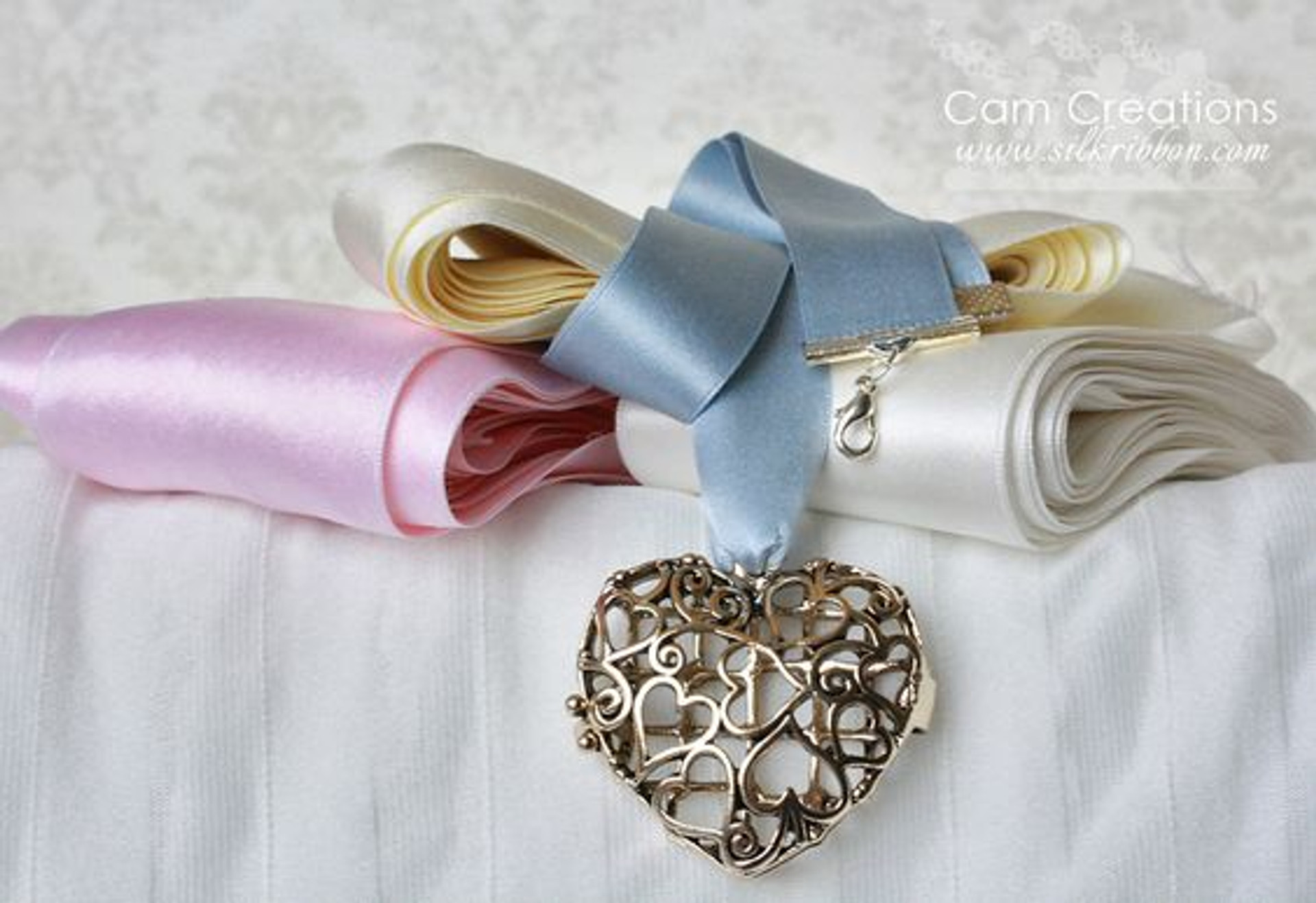 100% Silk Satin Ribbon