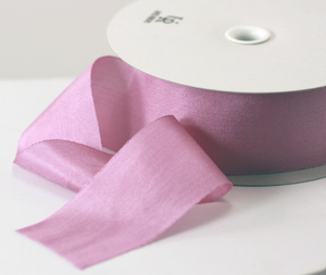 Pure filament 32mm silk embroidery ribbon
