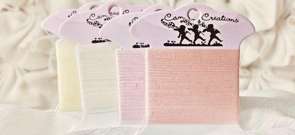 China Silk Embroidery Ribbon