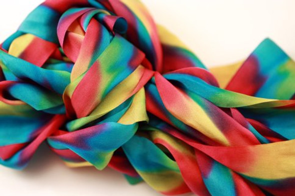 Hand Dyed Silk Embroidery Ribbon, 32mm #91V