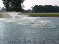 0.5 HP Kasco VFX Aerating Fountain