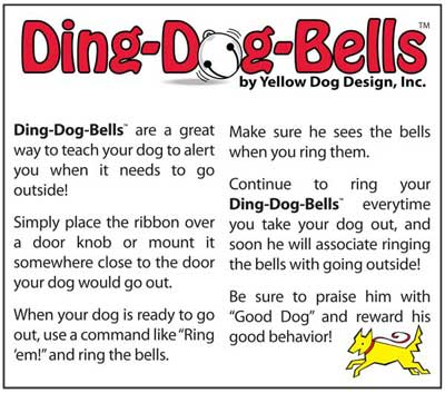 Dog Housebreaking instructions