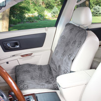 Single Seat Pawprint Car Seat Cover