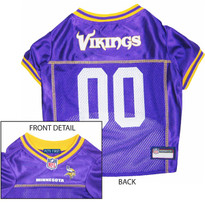 newest collection bad82 fe548 Minnesota Vikings Dog Collar: Clothes, Apparel, Lead & ID ...