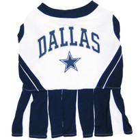 Dallas Cowboys NFL Football Pet Cheerleader Outfit
