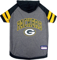 Green Bay Packers NFL Football Dog HOODIE