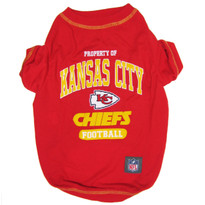 Kansas City Chiefs NFL Football Pet T-Shirt