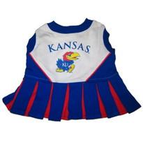 Kansas Jayhawks Dog Cheerleader Outfit