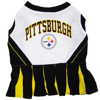 Pittsburgh Steelers NFL Football Pet Cheerleader Outfit