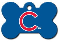 Chicago Cubs Pet ID Tag - With Engraving