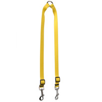 Solid Yellow Coupler Dog Leash