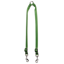 Solid Kelly Green Coupler Dog Leash