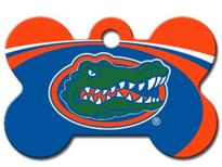 Florida Gators Engraved Pet ID Tag