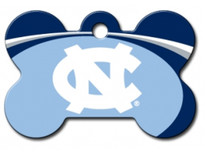 North Carolina UNC Tarheels Engraved Pet ID Tag
