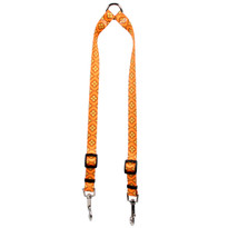 Cleo Orange Coupler Dog Leash