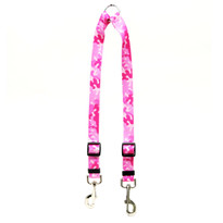 Camo Pink Coupler Dog Leash