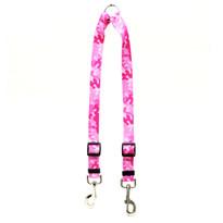 Camo Pink Coupler Dog Leash