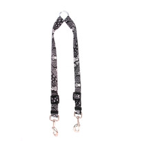Black Bandana Coupler Dog Leash